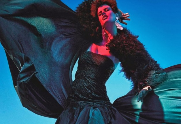 Saskia de Brauw 'Extreme' by Mario Sorrenti Vogue Paris 13