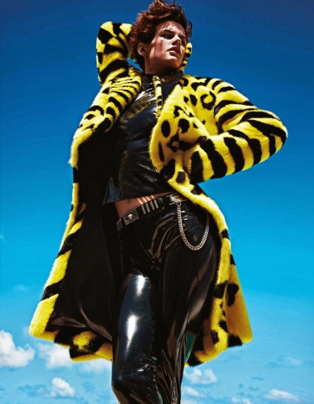 Saskia de Brauw 'Extreme' by Mario Sorrenti Vogue Paris 15