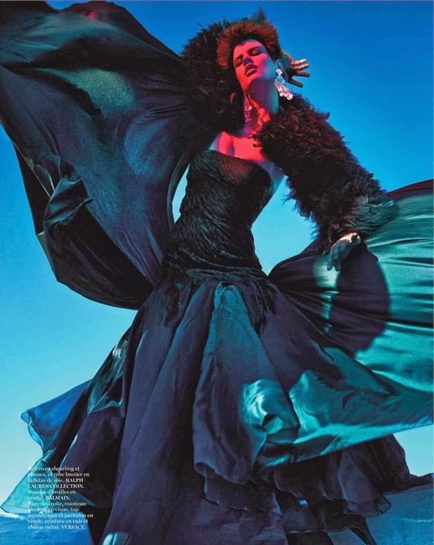 Saskia de Brauw 'Extreme' by Mario Sorrenti Vogue Paris 19