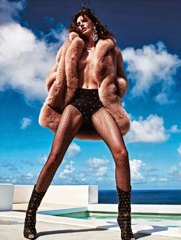 Saskia de Brauw 'Extreme' by Mario Sorrenti Vogue Paris 20
