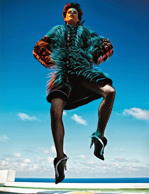 Saskia de Brauw 'Extreme' by Mario Sorrenti Vogue Paris 3