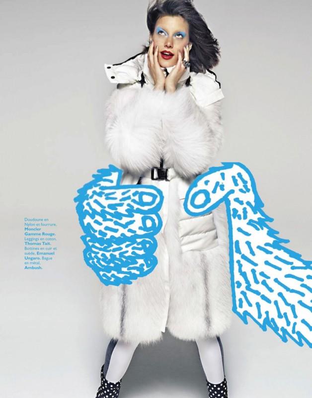 Tatiana Cotliar in Electro Libre By James Macari For Grazia France 9