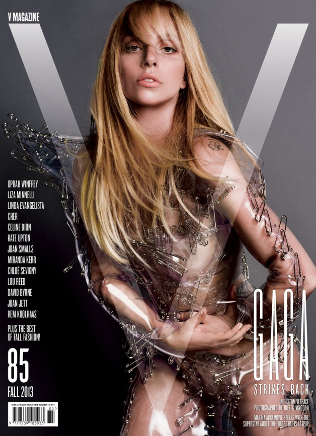 lady Gaga V Magazine Cover #2 Fall 2013