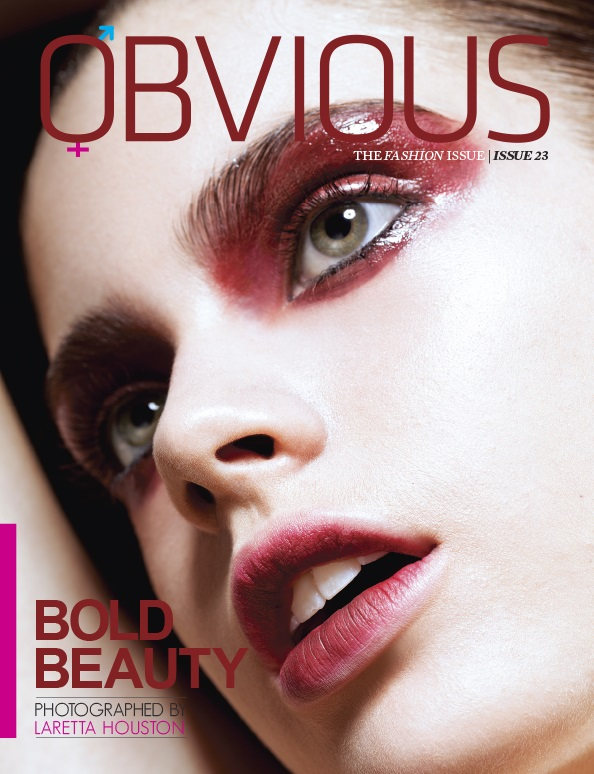 Gwen V In Bold Beauty By Laretta Houston For Obvious Magazine