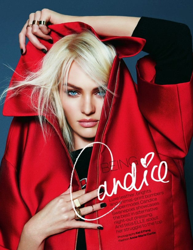 Candice Swanepoel By Kai Z Feng For Uk Elle 1