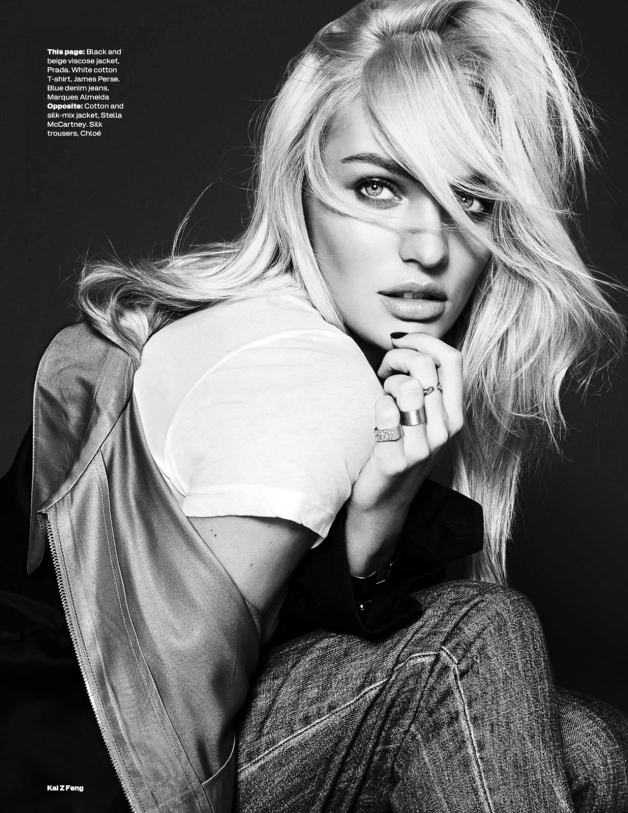 Candice Swanepoel By Kai Z Feng For Uk Elle 11