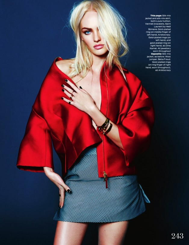 Candice Swanepoel By Kai Z Feng For Uk Elle 2