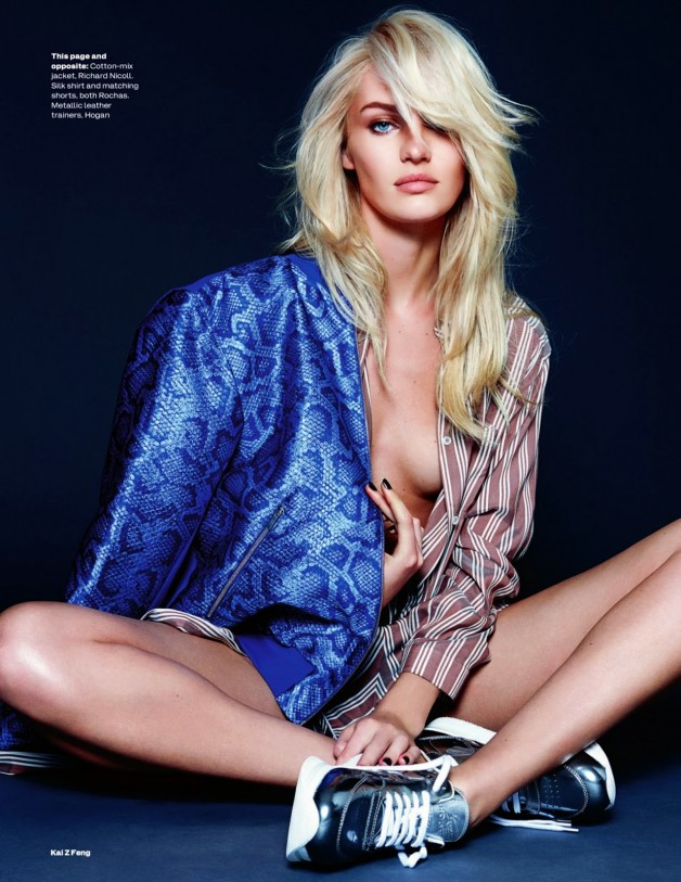 Candice Swanepoel By Kai Z Feng For Uk Elle 5