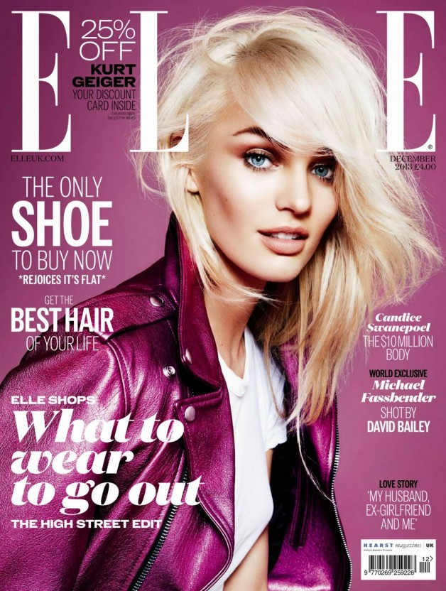 Candice Swanepoel Covers Elle UK
