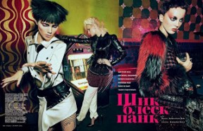 'Chic Shine Punk' Sebastian Kim Vogue Russia