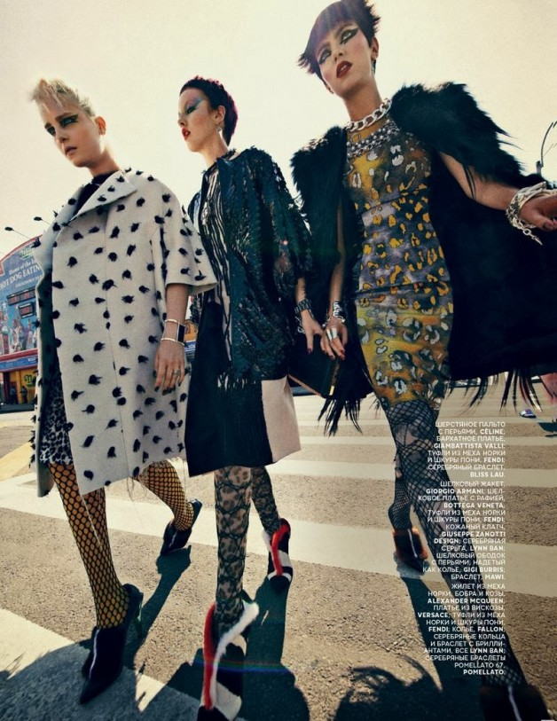 'Chic Shine Punk' by Sebastian Kim Vogue Russia 20