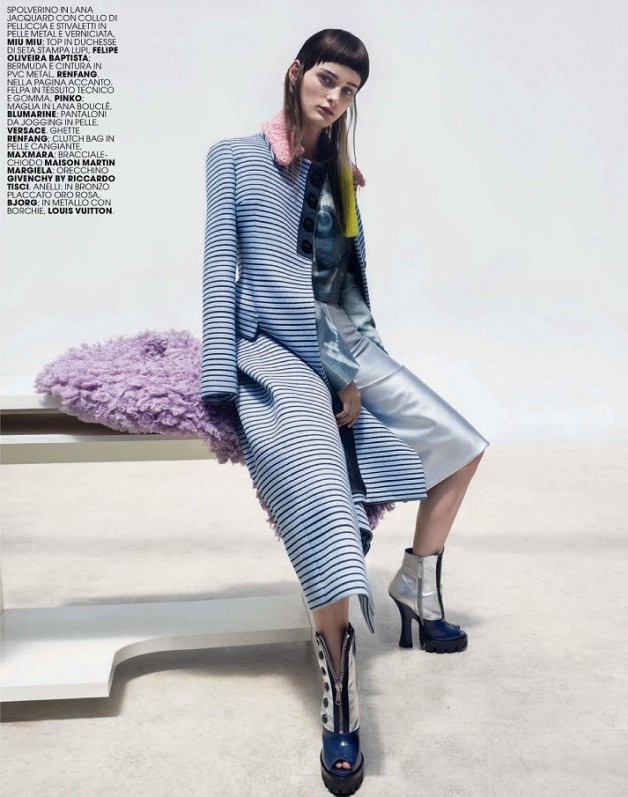 Cyber Fantasy By Thomas Krappitz For Marie Claire Italy 4