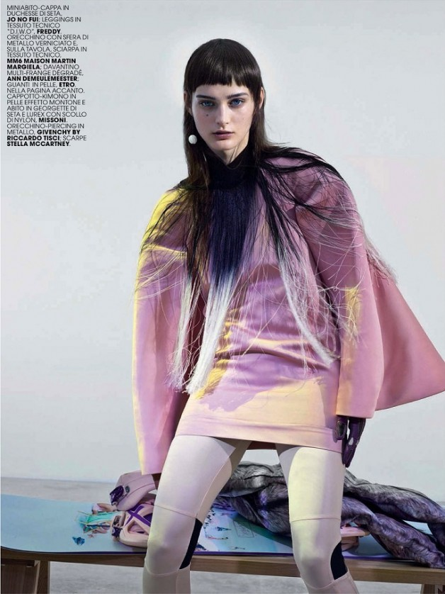 Cyber Fantasy By Thomas Krappitz For Marie Claire Italy 6