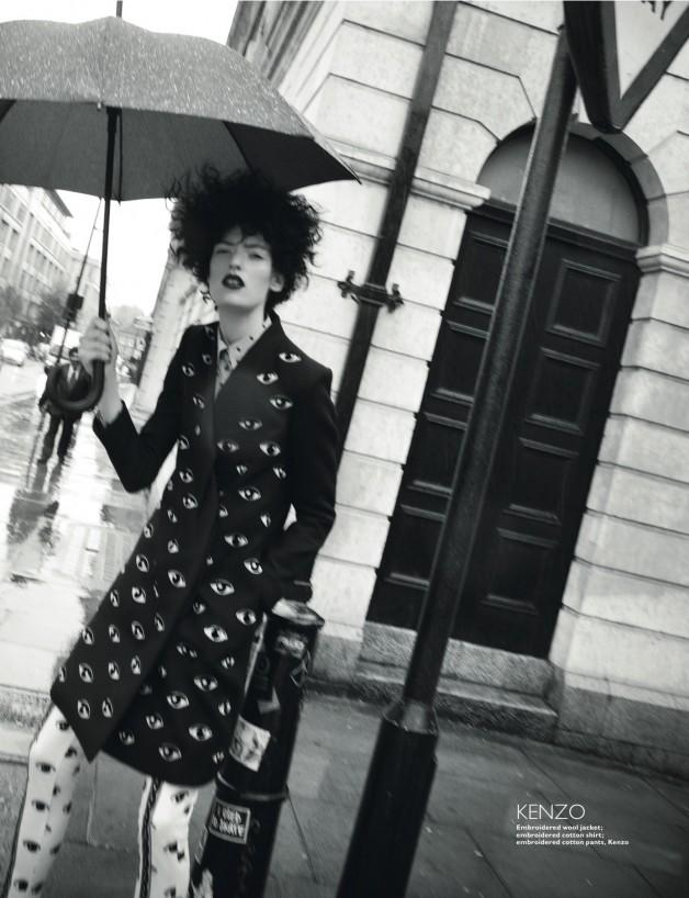 Marikka Juhler by Mari Sarai For Harper's Bazaar Singapore