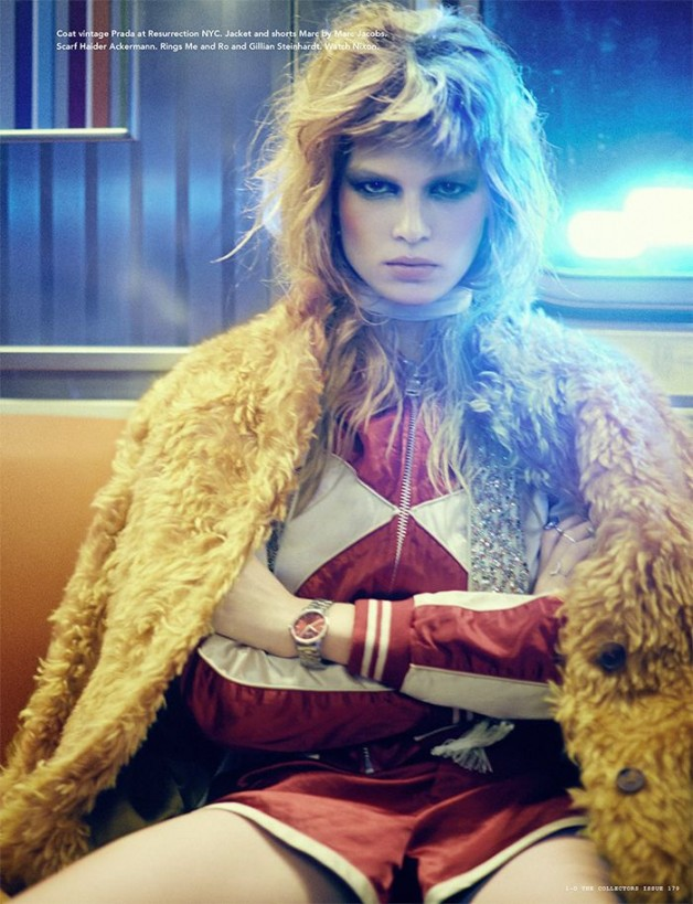 Anna Ewers By Boo George For I-D Winter 8