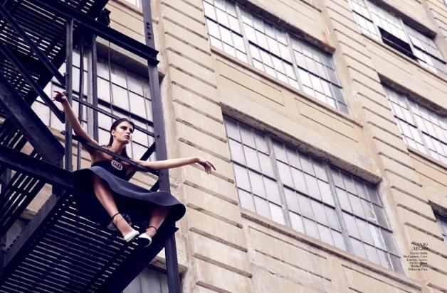 Crystal Renn By Dusan Reljin For Harper's Bazaar Brasil 8