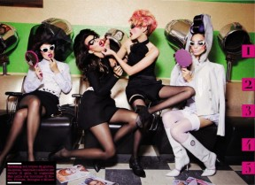Ellen Von Unwerth 'Make Me Up' Vogue Italia 4