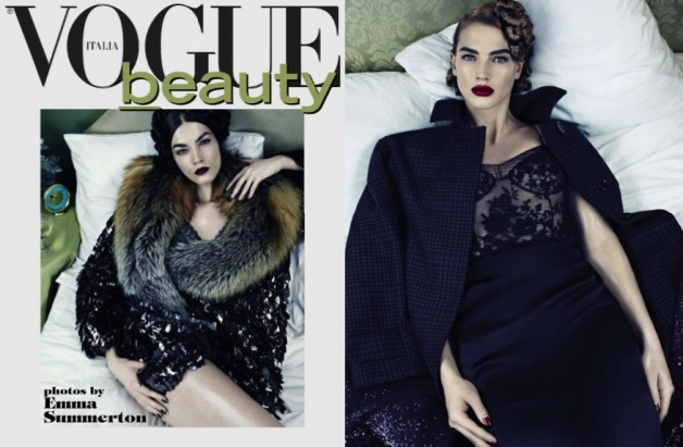 emma summerton vogue italia beauty supplement 2