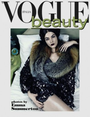 emma summerton vogue italia beauty supplement