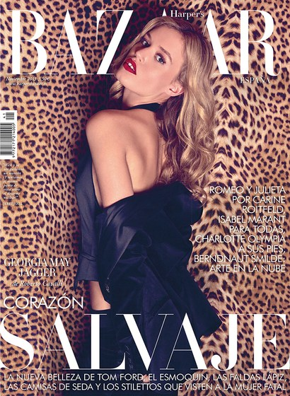 georgia may jagger by xevi muntane harpers bazaar spain