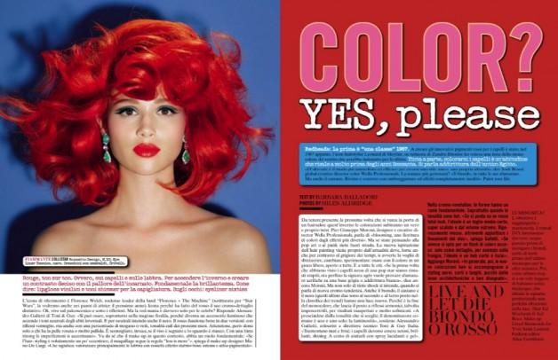 miles aldridge color yes please vogue italia