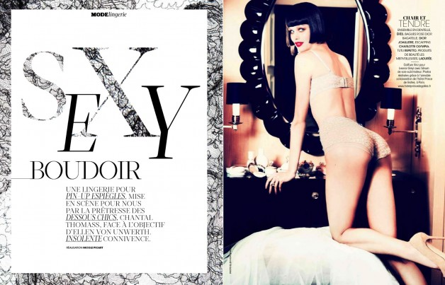 Ellen Von Unwerth For Madame Figaro