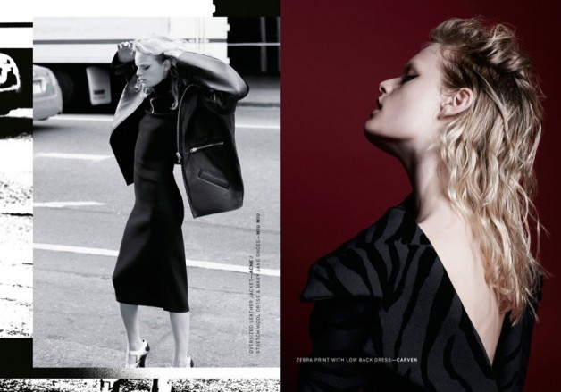 Hanne Gaby Odiele Poses for Lurve Magazine #8  03