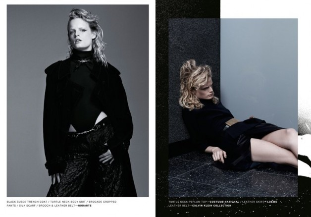 Hanne Gaby Odiele Poses for Lurve Magazine #8 04