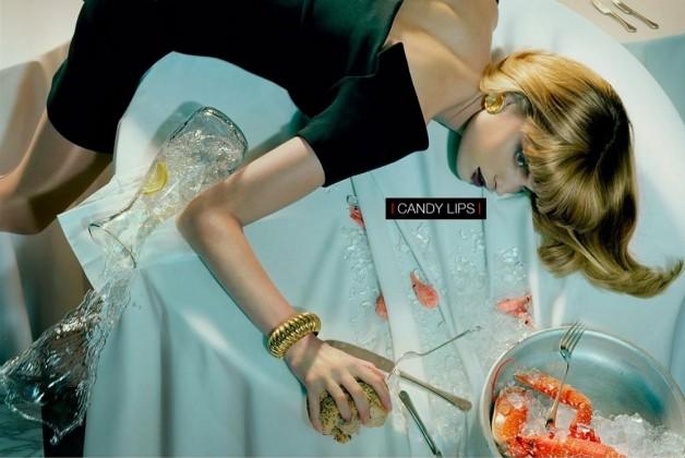 Melissa Tammerijn by Miles Aldridge for Vogue Beauty 5