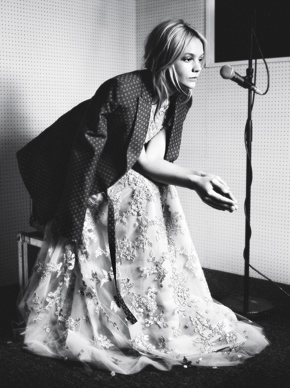 carey mulligan by rankin for dazed & confused 1