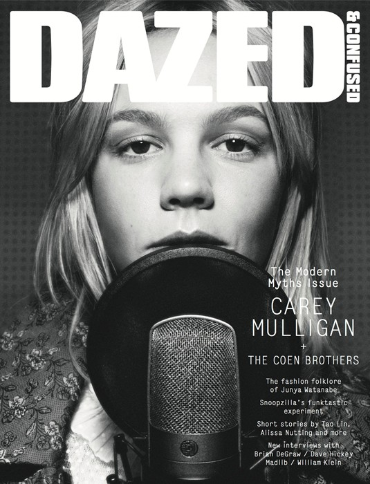 carey mulligan by rankin for dazed & confused