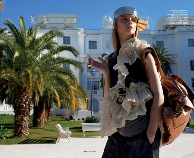 Anna Selezneva By Hans Feurer For Vogue Russia13