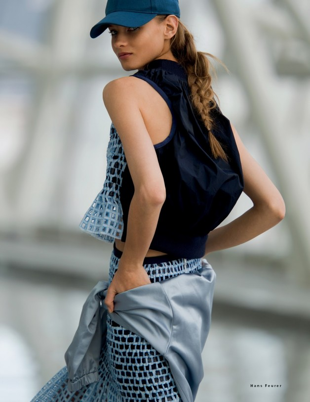 Anna Selezneva By Hans Feurer For Vogue Russia9