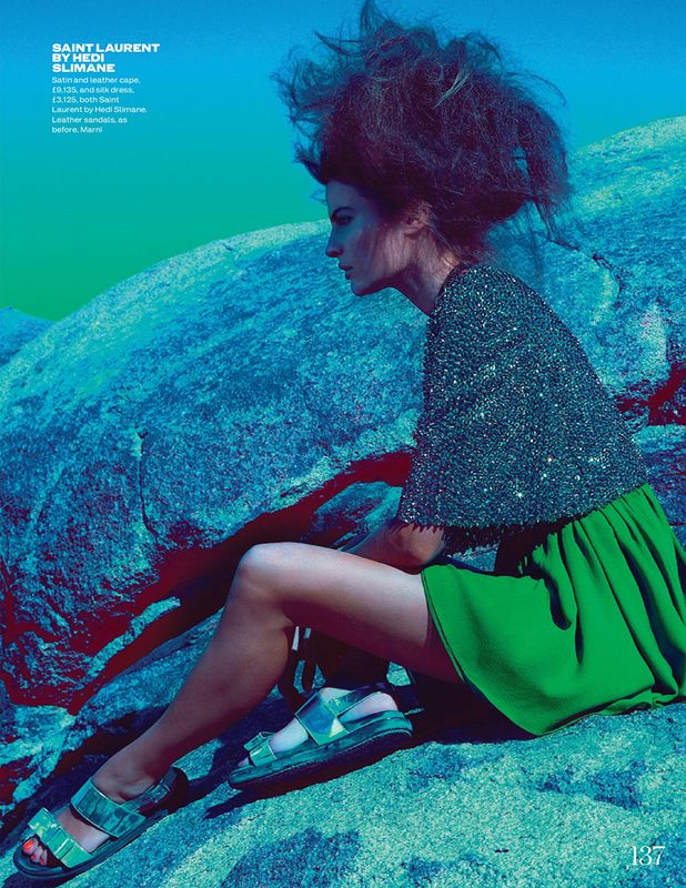 Cameron Russell by Kai Z Feng for UK Elle 8