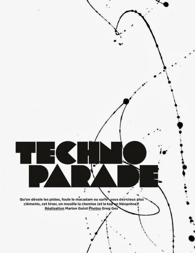 Georgina Stojiljkovic 'Techno Parade' Greg Gex For Be