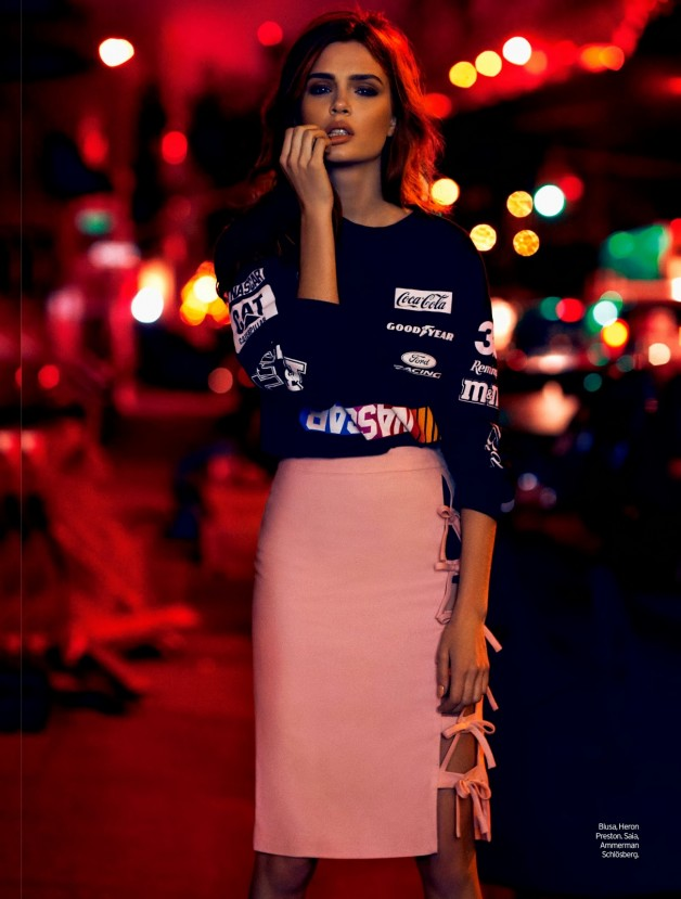 Josephine Skriver by Nicole Heiniger (Night Vision - Elle Brazil January 2014) 3
