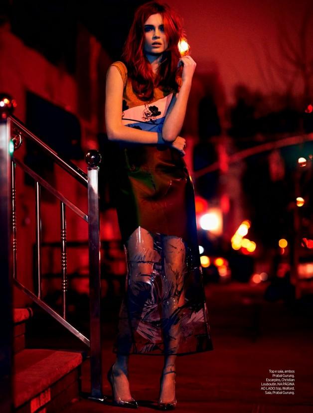 Josephine Skriver by Nicole Heiniger (Night Vision - Elle Brazil January 2014) 4