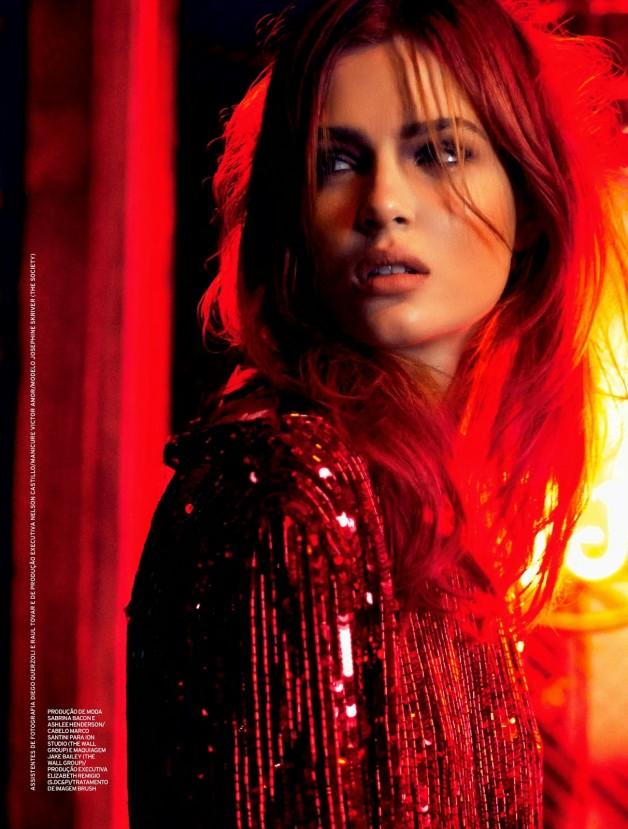 Josephine Skriver by Nicole Heiniger (Night Vision - Elle Brazil January 2014) 8