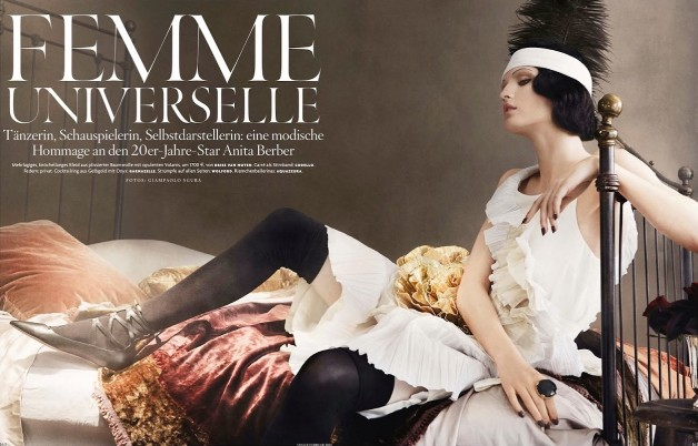 Katlin Aas 'Femme Universale' Giampaolo Sgura For Vogue Germany 1