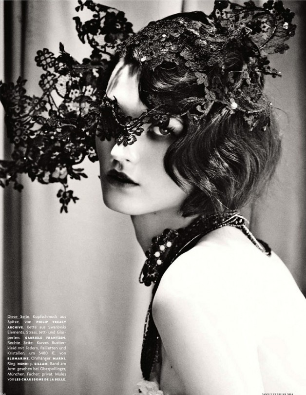Katlin Aas 'Femme Universale' Giampaolo Sgura For Vogue Germany 5
