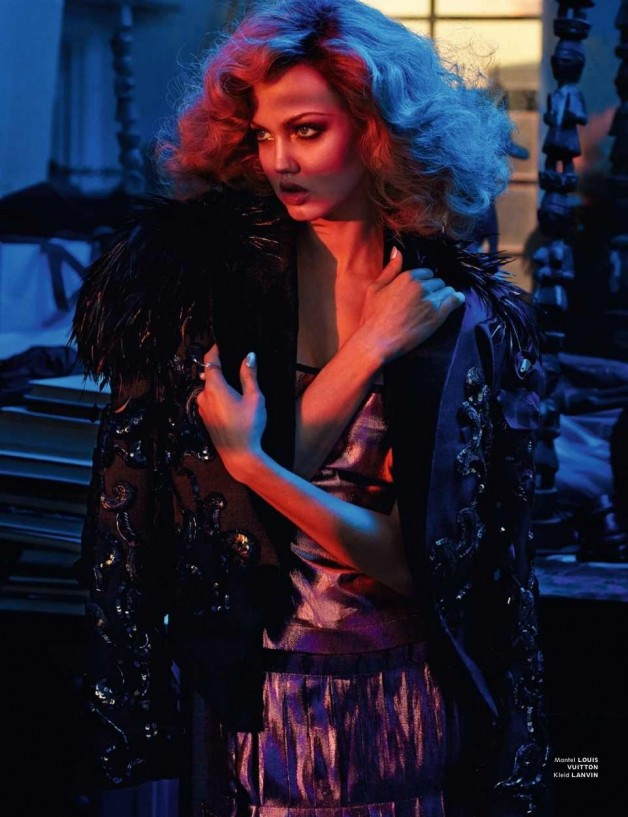 Lindsey Wixson in 'Light, Camera, Action' By Sebastian Faena For Interview Germany 16