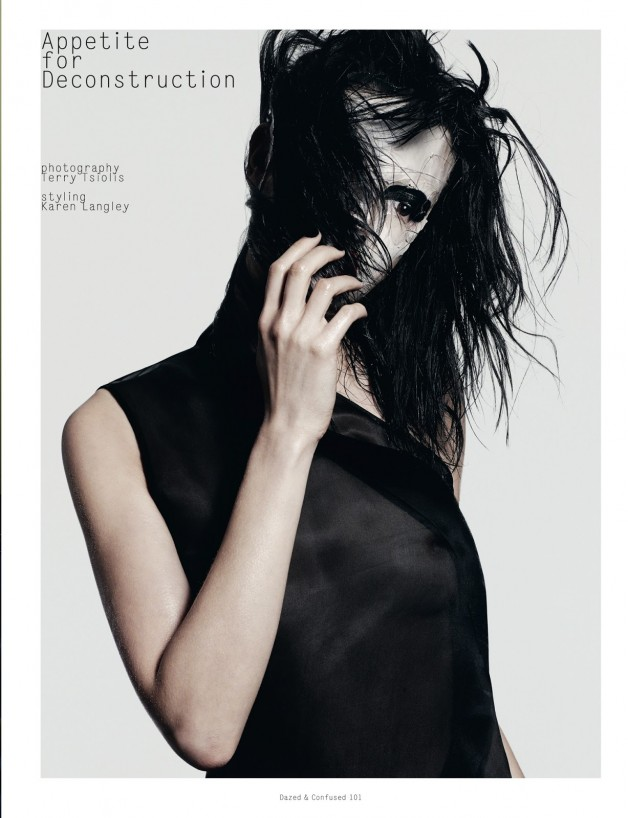 Sabrina Ioffreda 'Appetite for Deconstruction' Terry Tsiolis For Dazed & Confused 1
