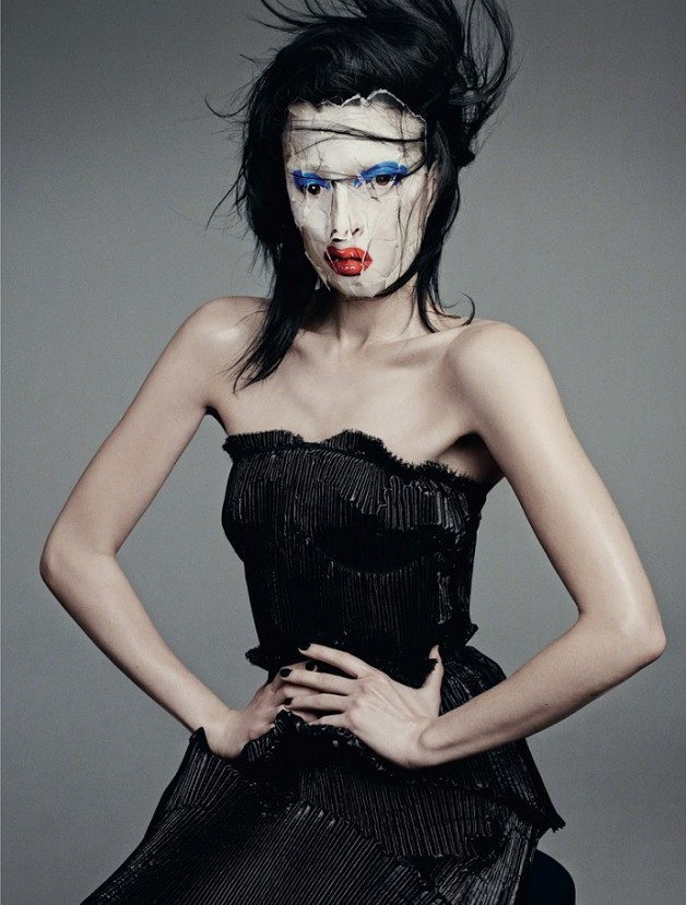 Sabrina Ioffreda 'Appetite for Deconstruction' Terry Tsiolis For Dazed & Confused 9