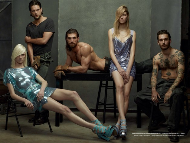 Steven Meisel 'The Collections' for Vogue Italia 1