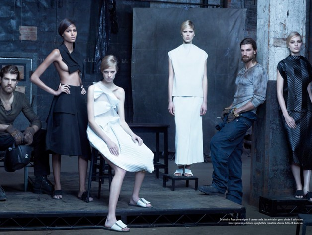 Steven Meisel 'The Collections' for Vogue Italia 12