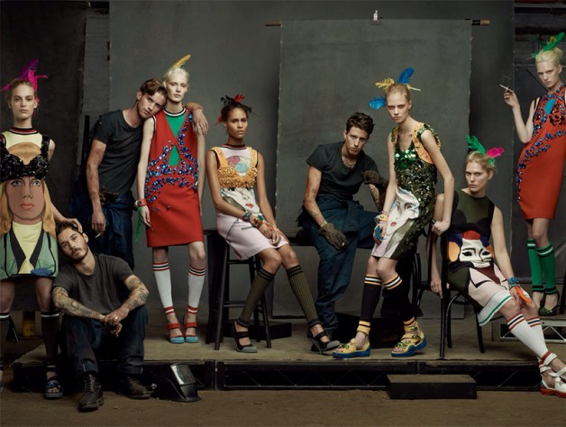 Steven Meisel 'The Collections' for Vogue Italia 4