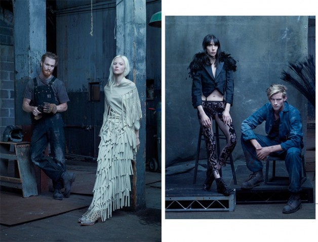 Steven Meisel 'The Collections' for Vogue Italia 5
