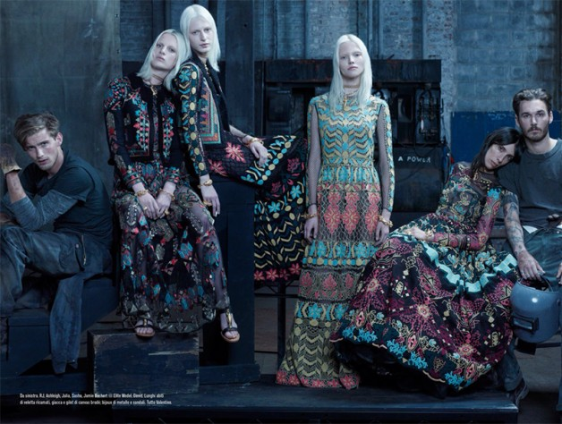 Steven Meisel 'The Collections' for Vogue Italia 7