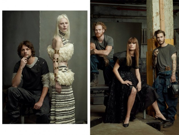 Steven Meisel 'The Collections' for Vogue Italia 8