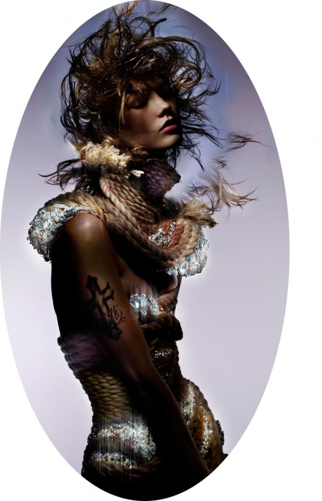 'Always & Forever' By Nick Knight For Garage Magazine #6 01